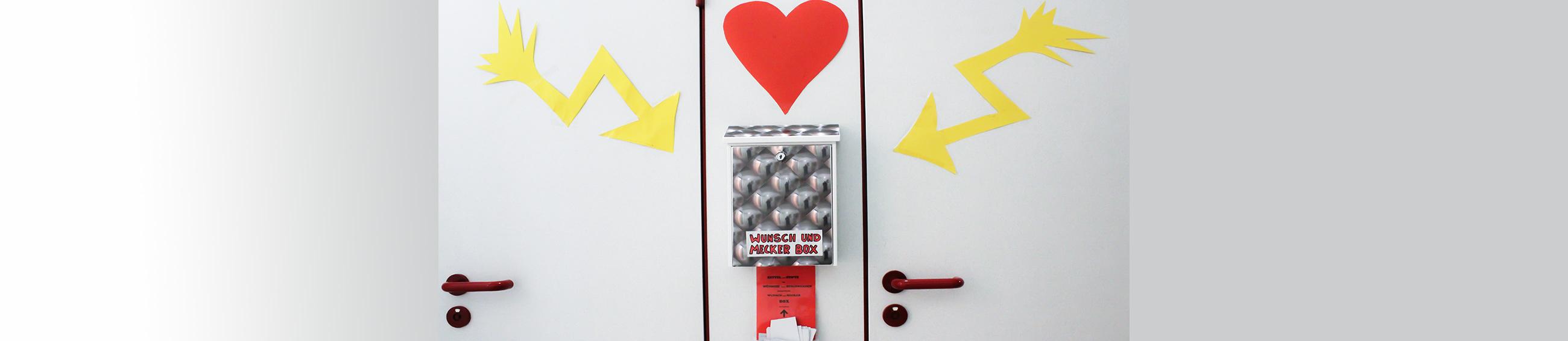 Wunsch-BOX im M*Z. Foto von L.Vandrei