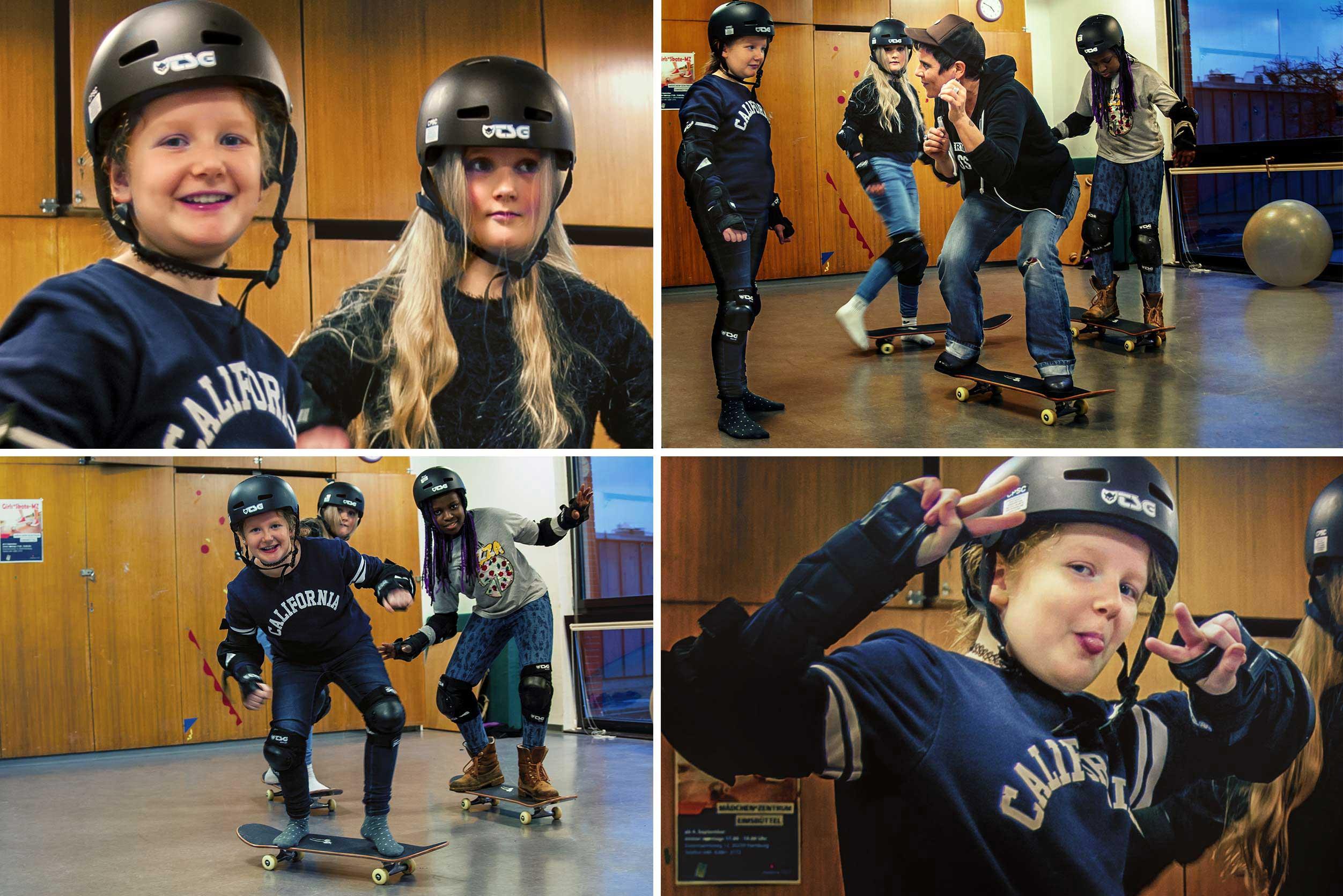 Girls*-Skate im M*Z. Foto von L.Vandrei