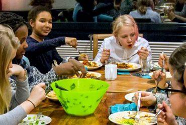 Zusammen Essen im M*Z.